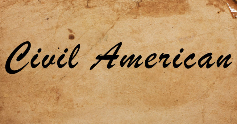 Logo for SOPHIA's Civil American series.