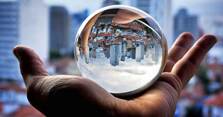Image of a crystal ball.