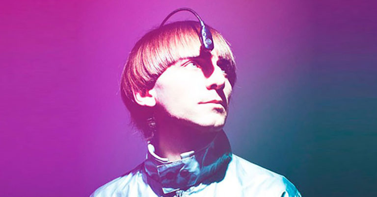 Neil Harbisson, a man who hears colors that he cannot see.